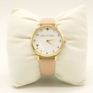 NEW Kate Spade Wine and DIne Metro Watch Leather